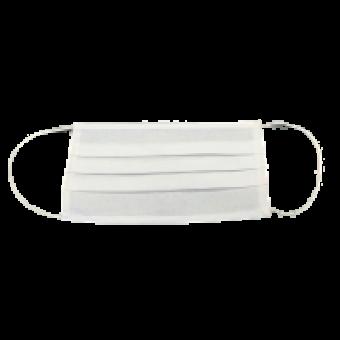 Mondmaskers uit wit katoen