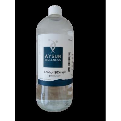 Alcohol 80 % - 1 liter - Aysun