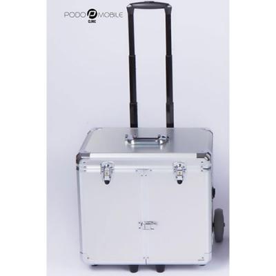Pedicurekoffer / Trolley Podo Mobile Silver