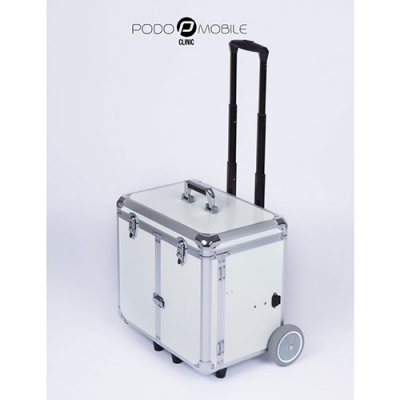 Pedicurekoffer - Trolley Podo Mobile Wit
