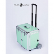 Pedicurekoffer - Trolley Podo Mobile Pastelgroen