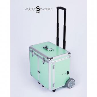 Pedicurekoffer - Trolley Podo Mobile Pastelgroen