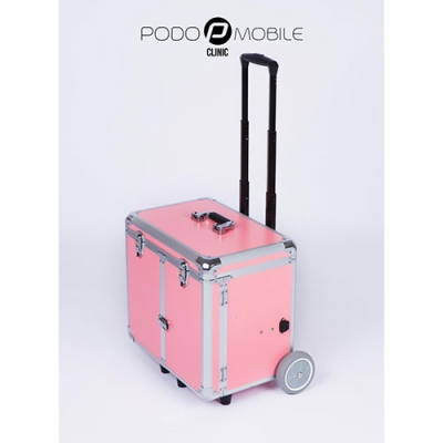 Pedicurekoffer - Trolley Podo Mobile Roze