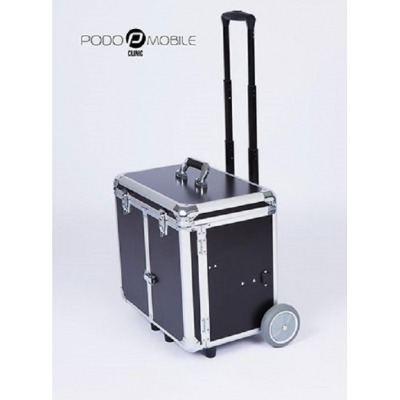 Pedicurekoffer / Trolley Podo Mobile Zwart