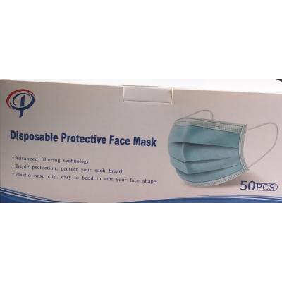 Mondmaskers  chirurgische - gekeurd! Blauw (50st)