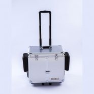 Pedicurekoffer -Trolley Podo Mobile luxe Silver