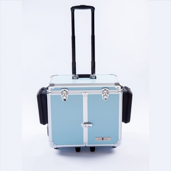 Pedicurekoffer -Trolley Podo Mobile luxe Blue