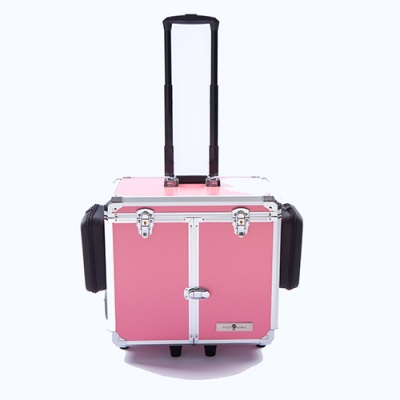 Pedicurekoffer -Trolley Podo Mobile luxe Pink