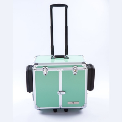Pedicurekoffer -Trolley Podo Mobile luxe Green