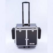 Pedicurekoffer -Trolley Podo Mobile luxe Black